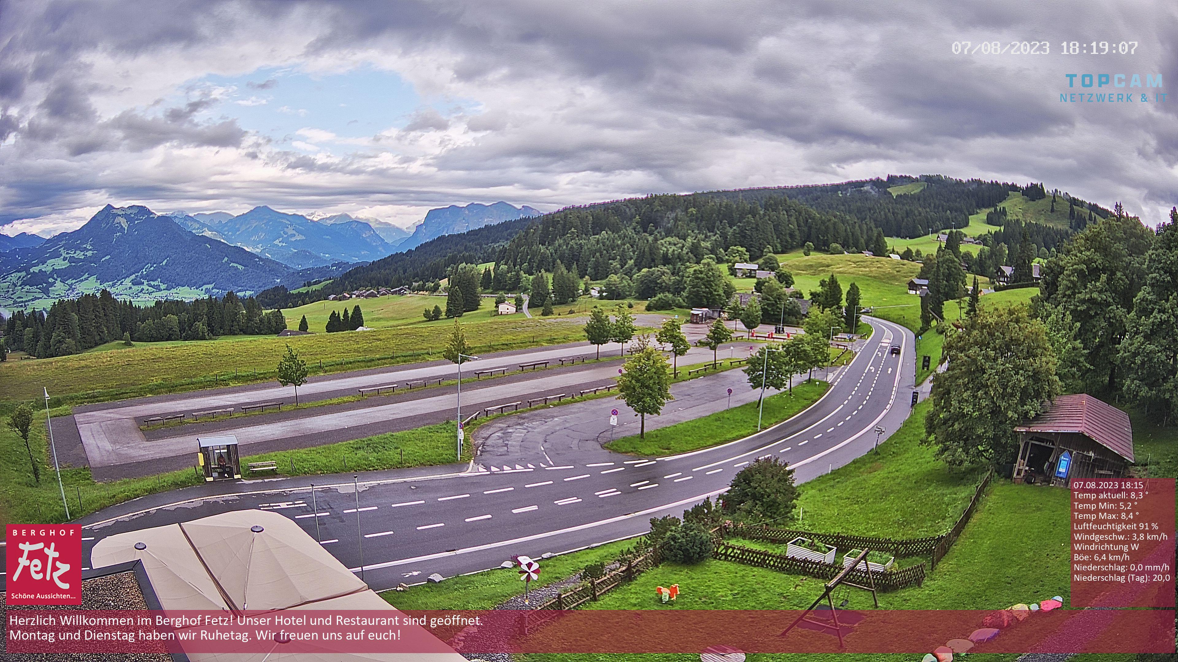 Livecam Berghof Fetz